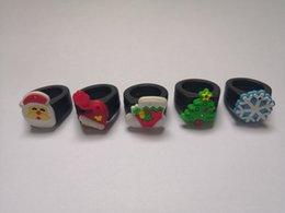Ring socks online shopping - Silicone Vape Band Christmas Tree Hat Santa Claus Sock Snowflake Rubber Beauty Cartoon Decorative Ring Fit mm mm Mods Vapor Tank