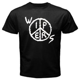 $enCountryForm.capitalKeyWord NZ - New Wipers Peace Logo Punk Rock Band Men's Black T-Shirt S-3XL 2018 New Fashion Brand Clothing