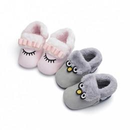 $enCountryForm.capitalKeyWord NZ - Cute Soft Baby Boys Infant Shoes Winter Warm Prewalker Slippers Toddler Girls Crib Shoes First Walkers Y13