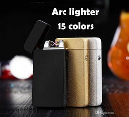 Promotional Electronics Australia - Promotional offers Pulse Arc Metal Creative Lighter USB Charging Lighter Cigarette Lighters Free Shipping