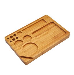 Pure hand wood pipe AW original wood cigarette machine tray on Sale