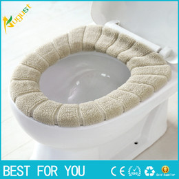 knit cushion pattern NZ - Warm thickening O-type toilet cushion knitted pumpkin pattern washable toilet seat cushion
