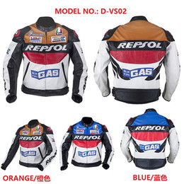 Discount motorcycle repsol - DUHAN Moto Racing Jackets winter for men Motorcycle jacket D-REPSOL PU riding clothing motorbike suits REPSOL Jacket