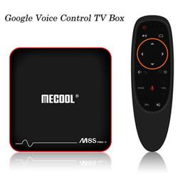 Discount m8s iptv box - Google Voice Control Android 7.1 TV Box 2018 New Arrivals S905W Smart TV Streaming Box System Original M8S PRO W IPTV Bo