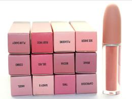 $enCountryForm.capitalKeyWord Australia - Highlighter M &AC 12 Colors Brand Makeup Matte Liquid Lip Gloss Lipstick Long Lasting Lipgloss maquillage DHL Free Shipping