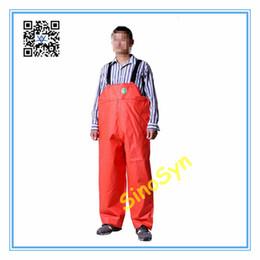 $enCountryForm.capitalKeyWord UK - FQ1734 Rubber Safty Chest  Waist Protective Working Fishery Men Pants Double Sides Orange