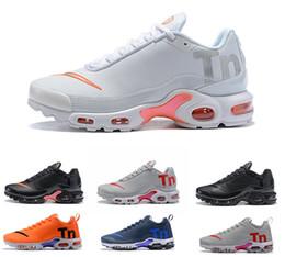 watch d0036 54c28 Air Mercurial Plus Tn Ultra SE Nike Air Max airmax TN plus Noir Blanc  Orange Orange Chaussures De Course En Plein Air TN chaussures femmes Hommes  Baskets En ...