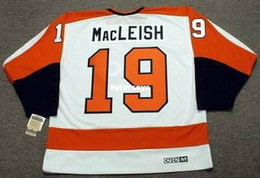 custom Mens RICK MacLEISH Philadelphia Flyers 1974 CCM Vintage Home Cheap Retro  Hockey Jersey fa5daeb9b