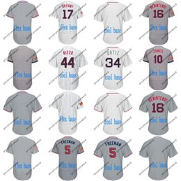 b2a990ad08b 2018 Stars   Stripes Jersey Mens 5 Freddie Freeman 16 Andrew Benintendi 10  Adam Jones 34 David Ortiz Atlanta Boston Chicago Jerseys