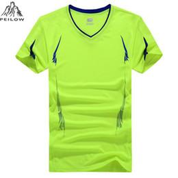 $enCountryForm.capitalKeyWord Australia - PEILOW Plus Size 6XL 7XL 8XL 9XL T-Shirt Summer Men Quick-Dry Breathable Casual Short Sleeve T-Shirt sporting For Men