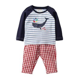 Discount baby clothes factory - Spring baby clothes sets kids girls clothes full sleeve o-neck tracksuits for boy toddler child suits Made In China fact