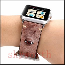 f85d6077a Pink leather watch band online shopping - Real Genuine Leather Watch Band  For Apple Watch Band