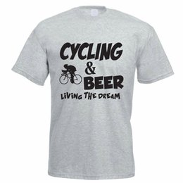 Cycling Cyclist NZ - Details zu CYCLING & BEER - Cyclist Cycle Biking Sport Idea Mens T-Shirt Funny free shipping Unisex Casual tee gift