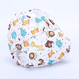 Swimwear Infant Australia - Baby Swimwear Swim Diaper Wear for Baby Reusable Toddler Swimsuit Adjustable Infant Boy Girl Swimwear Boy Girl Swim Diapers