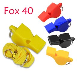 $enCountryForm.capitalKeyWord NZ - Hot Selling FOX 40 Classic Plastic Whistle 4 Color Basketball Soccer Referee Whistle Outdoor EDCGEAR Sports Accessories Student Gift B240S F
