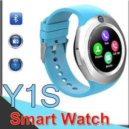 real phones for kids 2019 - Y1S Smart Watch Phone SIM Card Watch With Real Camera Pulsometer Sport Activity Tracker Fitness Watches Smart watches fa