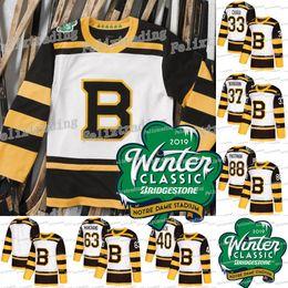 2019 Winter Classic 37 Patrice Bergeron Boston Bruins 88 David Pastrnak 44  Tuukka Rask 33 Zdeno Chara 63 Brad Marchand Hockey Jerseys 2b3c8c584cdb