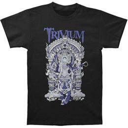 $enCountryForm.capitalKeyWord NZ - Loose Clothes Novelty Men Crew Neck Short-Sleeve New Style Men Trivium Band Durga Heavy Metal Tees