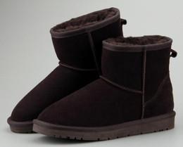 Venta al por mayor de 2018 VENTA CALIENTE Nueva mujer Botas de nieve cuero de gamuza australiano de invierno caliente Botas y tobillo Boots marca Ivg 12 color al aire libre Boot