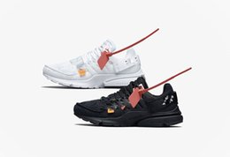 Chinese  Presto 2.0 white Black running shoes with box sneaker trainer sports shoes size 36-45 free shipping with box manufacturers