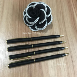 Vente en gros 2018 Designer stylo C lettres de mode de luxe de la mode Pen papeterie collection de souvenirs de fête cadeau VIP pour les toxicomanes