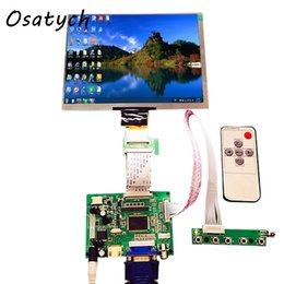 $enCountryForm.capitalKeyWord UK - HDMI VGA 2AV 50PINL LVDS Controller Board Moudle+8inch 1024*768 HE080IA-01D LCD Display Screen Matrix for Raspberry PI