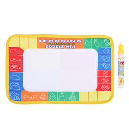 pen clay NZ - Magic Water Drawing Book Doodle Painting Graffiti Water Drawing Board Water Coloring Kids Early Educational Toy Gift free shipping