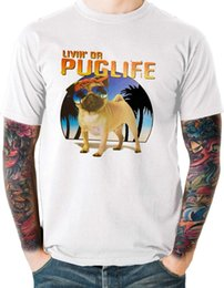 M Sunglasses Brands UK - Cotton Shirts Da Pug Life Dog T Shirt Puppy Funny Sunglasses Mens Sizes Small to 6XL and Tall Brand Clothing Men t shirt