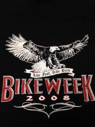 65a9905a4 2008 Bike Week Eagle -Live Fast Ride Hard T-Shirt Todos los tamaños Colores  (559) Camiseta Hombre Hombre Ropa de marca Manga corta personalizada Plus  Talla ...