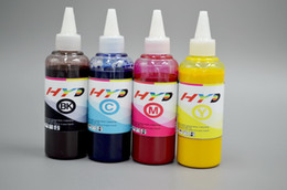 Venta al por mayor de Tinta de sublimación 4x100ml para Epson S20 / S21 / S22 / SX115 / SX125 etc. Impresora de inyección de tinta
