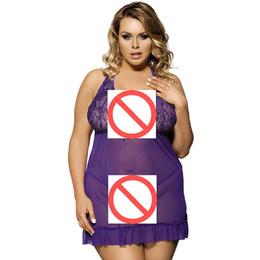 $enCountryForm.capitalKeyWord UK - Woman Lingerie Underwear Baby doll Evening Dresses With G-back Hot Plus Size M-7XL Transparent Sleepwear New 2018 Sexy Clothes
