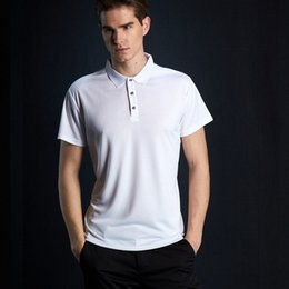 quick dry polo shirts men Australia - Quick Dry Polos Slim Fit Polo Shirt Men Solid Breathable Fashion Men Solid Poloshirt Short Sleeve Brands Cheap Camisa Masculina
