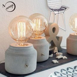 funny lamps for sale club modern mini funny grey concrete cement bedside table lamp for bedroom desk e27 e26 office living room study funny desk lamps online shopping sale