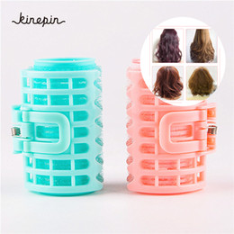 $enCountryForm.capitalKeyWord NZ - 4pcs set Plastic Hair Curler Roller Large Grip Styling Roller Curlers Hairdressing DIY Tools Styling Home Use Hair Rollers