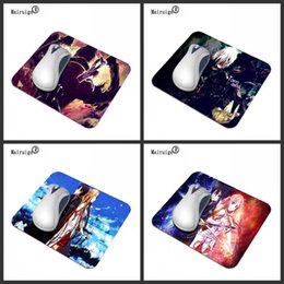 Rubber Player NZ - Mairuige Anime Game TV Characters Fashion Laptop Rubber Anti-slip Anime Mouse Pad PC Peripheral Game Player Gift 22X18 29X25CM