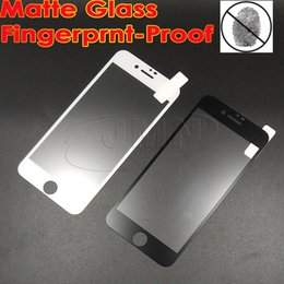 Wholesale 0 mm Fingerprintproof Matte Tempered Glass Full Cover For iPhone X s Frosted Screen Protector Protective Film plus