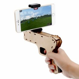 China AR Game Gun 3D Puzzle Augmented Reality Console Bluetooth Remote Control Video Game Mobile Gaming System wireless Controller cheap video game remote suppliers