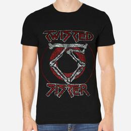 $enCountryForm.capitalKeyWord NZ - Twisted Sister Rock New Men T-Shirt Black Clothing 1-A-202 T Shirt Men's Top Design Custom Short Sleeve Valentine's Plus Size Group Camiseta