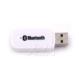 China Newest Bluetooth Aux USB Wireless Bluetooth Stereo Music Receiver 3.5mm Stereo Audio to Speaker Sound Box car kit cheap usb bluetooth audio music receiver suppliers