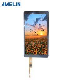 lcd ips NZ - 5.5 inch 1080*1920 IPS TFT LCD screen with CTP touch panel from shenzhen amelin display manufacture