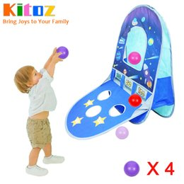 Playhouse Games Australia - Kitoz Children Ball Tent Dry Pool Game Play Tent House Tipi Teepee Foldable Playhouse Indoor Outdoor Toy for Kid Boy Girl Baby