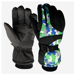 United Wild Snow Men And Women Outdoor Warm Gloves Windproof Waterproof Non-slip Plus Mountaineering Ski Gloves High Quality Skiing Gloves Skiing & Snowboarding