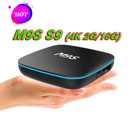 $enCountryForm.capitalKeyWord Canada - Rockchip M9S S9 TV Box Android 7.1 Quad Core RK3229 IPTV Box Bluetooth 2.4G WiFi 2G 16G Smart Boxes for TV Better S905W H96