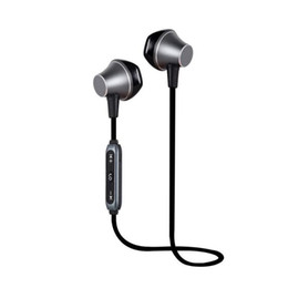 Discount wired headset iphone - 2018 D12 Magnetic Bluetooth Sport Earphone Wireless Running Headset With Mic MP3 Earbud Bass Stereo BT 4.2 For iphone xi