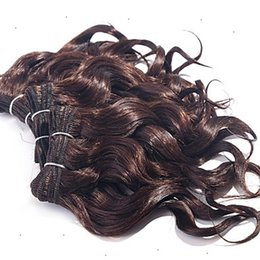 weave hair color 30 Canada - bargain goods 10-30 Inchs Auburn Brown Color Brazilian Body Wave Hair Extensions 100% Human Hair Weave 6a Unprocessed Remy Hair Weaving
