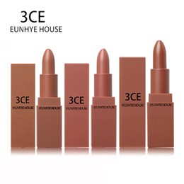 Discount 3ce makeup - 3CE EUNHYE HOUSE Lips Makeup Matte Lipstick Waterproof Lips Cosmetics Easy To Carry Matte Lipsticks 5 Colors In 1 Set Ho