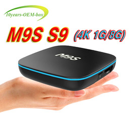 $enCountryForm.capitalKeyWord NZ - Factory Sale M9S S9 4K Smart Android 7.1 TV Box Rockchip RK3229 Quad Core Google Set Top Box Media Player