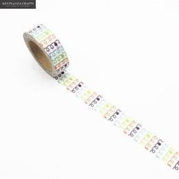 $enCountryForm.capitalKeyWord NZ - New Washi Tape Quality Stationery Diy Scrapbooking Photo Album School Tools Kawaii Scrapbook Paper Washitape Stickers Mask 2016