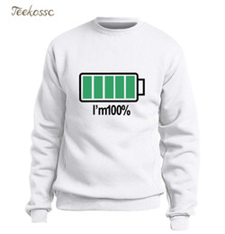 69904a416 Funny graphic sweatshirts online shopping - Unique Battery I Am Hoodie Men Funny  Sweatshirt Sweatshirts Mens