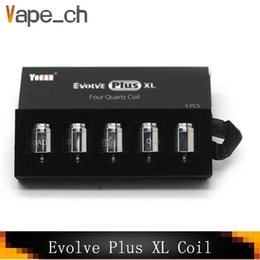 $enCountryForm.capitalKeyWord NZ - Original Yocan Evolve Plus XL Replacement Quad Quatz Rod Coils For Yocan Evolve Plus XL Dry Herb vape Pen